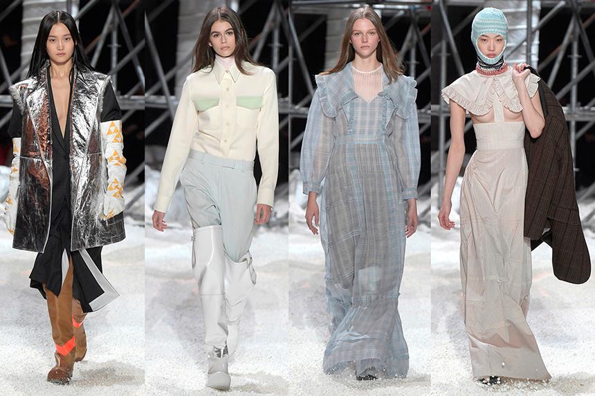 catwalkCat walk from Calvin Klein Fashion Show calvin klein
